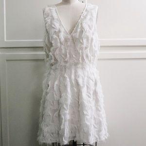 NWOT textured faux fur Party dress